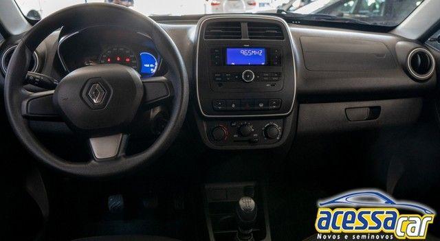 Renault KWID Zen 2020/1.0 - ACC Troca! - Foto 8