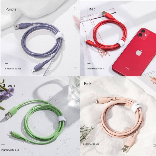 Cabo carregador original Baseus para iPhones USB A x Lightining - Foto 2
