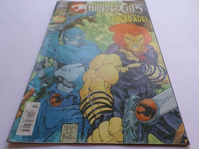 Revista Em Quadrinhos Thundercats - Luta Pela Liberdade