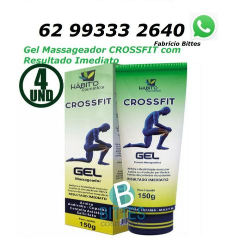 5 Gel Massageador Crossfit Para Dores Musculares