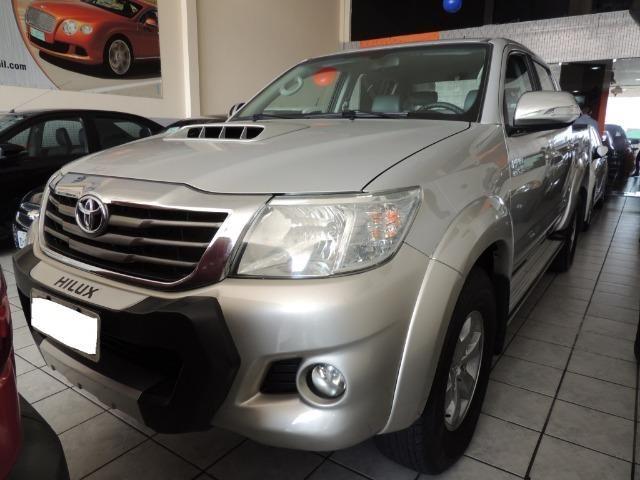 Toyota Hilux 3.0 SRV Cabine Dupla 4x4 Diesel 2014 - Foto 12