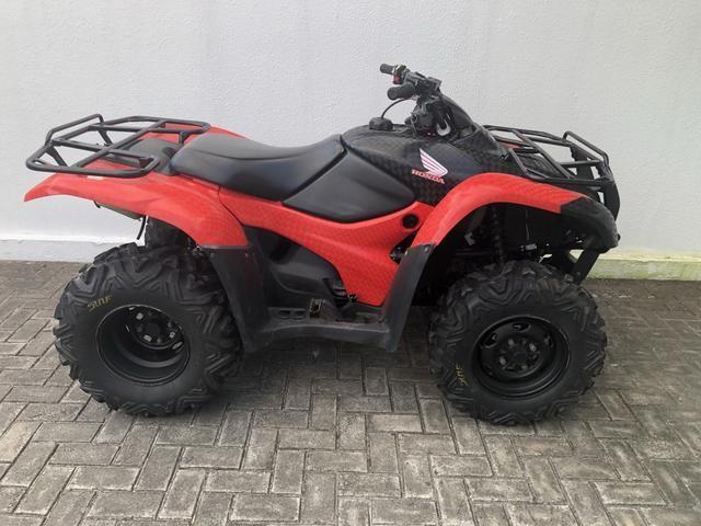 Quadriciculo Honda Fourtrax 420 4x4 2013 - Foto 4