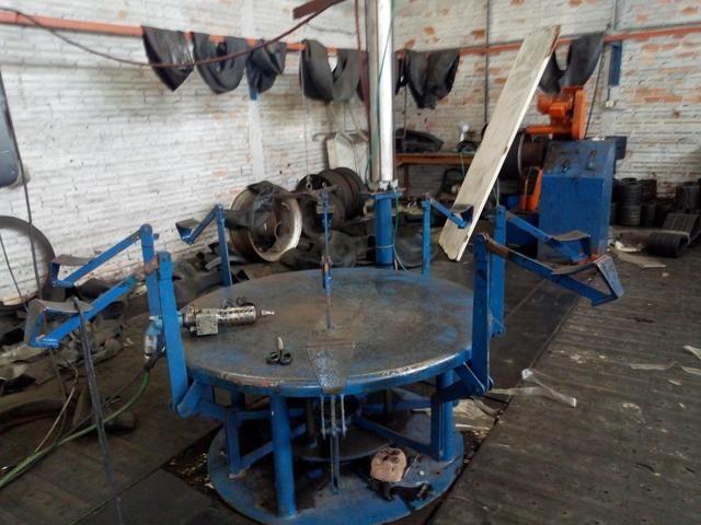 Vendo kit d maquinário para recapagem - Foto 2