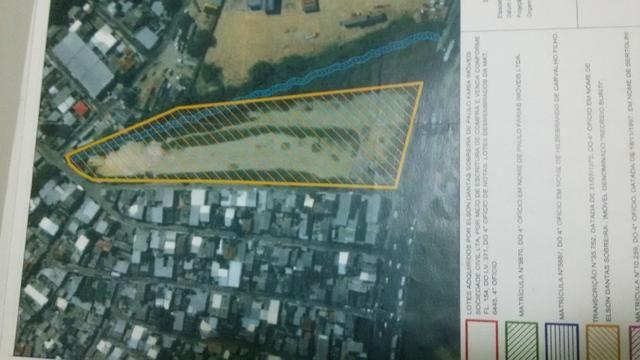 Terreno Distrito Industrial, medindo 18.000, documentado limpo terraplanado - Foto 2