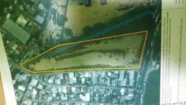 Terreno Distrito Industrial, medindo 18.000, documentado limpo terraplanado