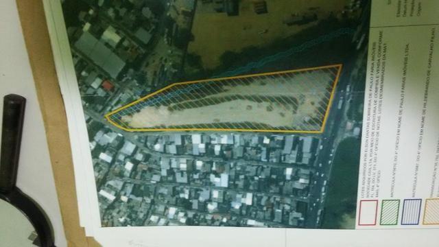 Terreno Distrito Industrial, medindo 18.000, documentado limpo terraplanado - Foto 3