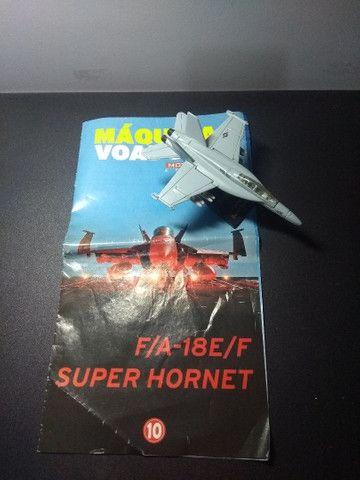 Miniatura Caça Super Hornet - Foto 4