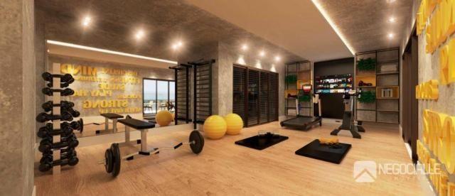 Apartamento com 1 dormitório à venda, 35 m² por R$ 230.000,00 - Bancários - João Pessoa/PB - Foto 4