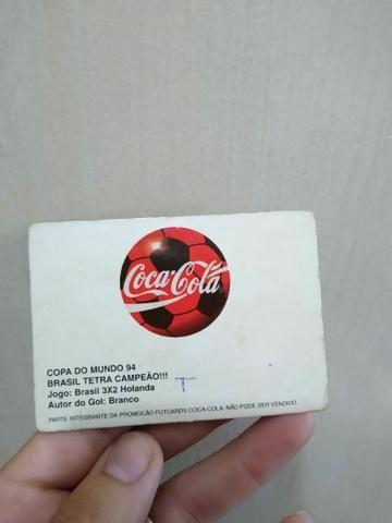 Futcards coca-cola de barbada - Foto 2