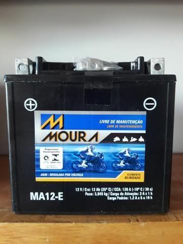 Bateria Moura 12 Amperes