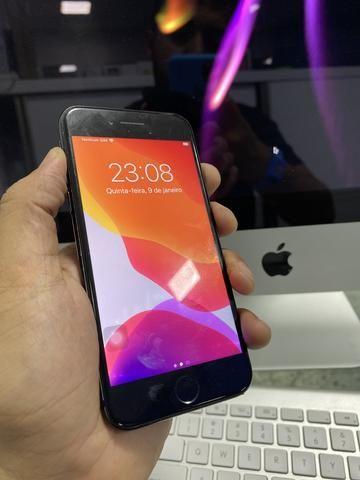 IPhone 7 128gb com falha na biometria, somos loja - Foto 6