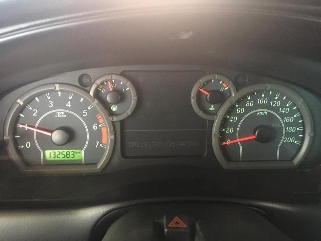 Ford Ranger XLT 2010 Gasolina - Vendo ou Troco - Foto 10