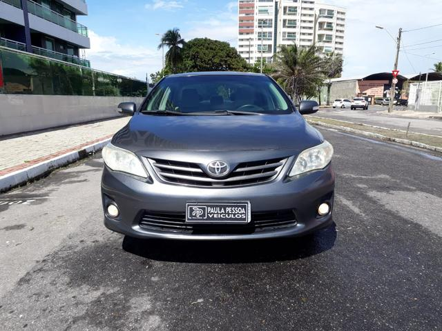 Toyota Corolla XEI automático, couro, completo, super novo - Foto 7