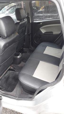 Fiesta Sedan 1.6 2009 Prata Completa Flex+GNV. Entr.+290,24 fixas - Foto 7