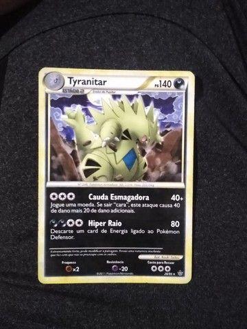 Cards TCG Pokémon tipo Noturno e Metálico - Foto 6