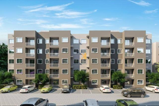 Apartamento com 2 dormitórios sendo 1 suíte à venda, 49 m² por R$ 152.500 - Centro - Euséb - Foto 7