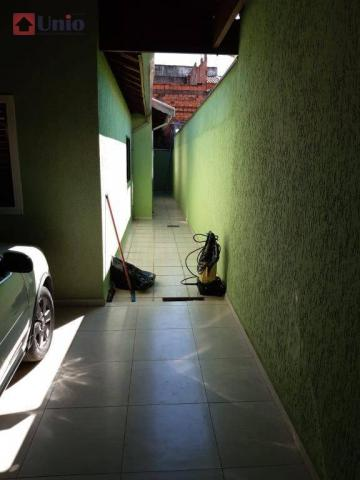 Casa com 3 dormitórios à venda, 220 m² por R$ 405.000 - Conjunto Residencial Mário Dedini  - Foto 15
