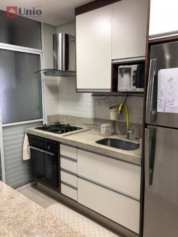 Apartamento com 3 dormitórios à venda, 68 m² por R$ 390.000 - Alto - Piracicaba/SP - Foto 15