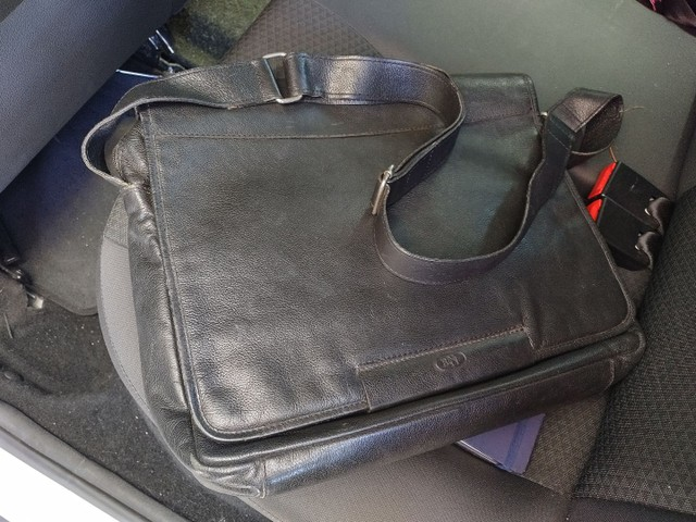 Bolsa Notebook Carteiro em couro Bennesh - Foto 2