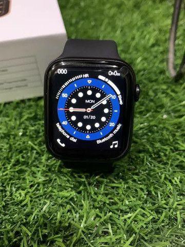 Smartwatch IWO 13 Lite(IWO W26+)Séries 6 Tela infinita, c/pulseira extra e película. - Foto 2