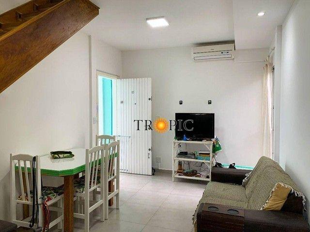 Apartamento com 3 dormitórios à venda, 120 m² por R$ 350.000,00 - Bal Mogiano - Bertioga/S - Foto 2