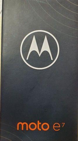 Motorola e7 64gb  cinza metalico (novo) - Foto 6
