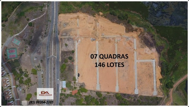 Residencial Catu - Lote padrão de 360m² (12m x 30m) ªº - Foto 2