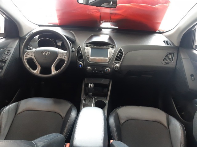 Hyundai IX35 Gls 2.0 Aut Flex 2017, Multimidia, Couro, Unica Dona, Periciada - Foto 6