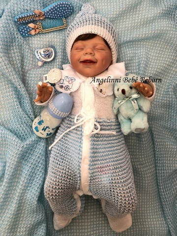 Bebê Reborn Gabriel - Pronto Envio! Com Enxoval - Foto 5