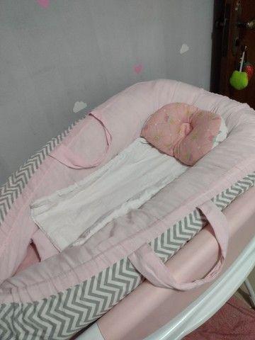 Ninho redutor + travesseiro - Foto 2