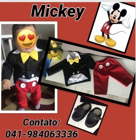 Alugo roupinha Mickey