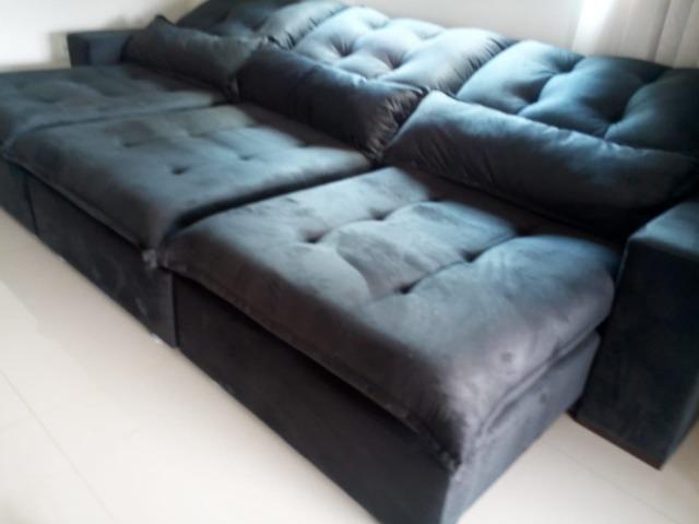Sofa gigante 3.50m fabricaçao propria cartao 12x