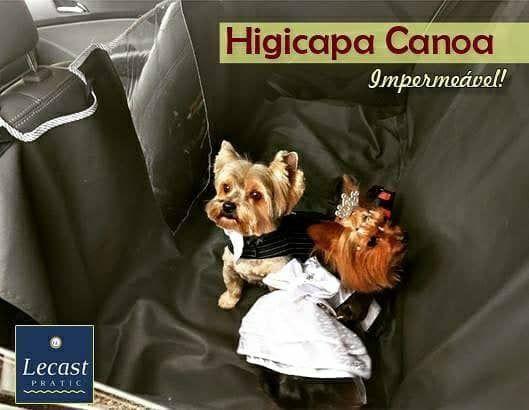 Higicapa Canoa; Capa Carro para Pet/Cachorro