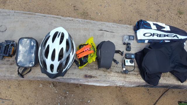 Cannondale trail 3 mais equipamentos