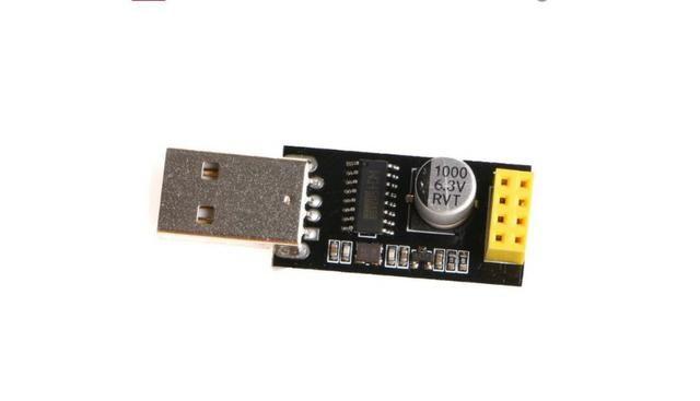 COD-AM159Usb Ttl Módulo Serial ESP8266 Wifi ESP-01 CH340G Adaptador De Placa developent - Foto 2