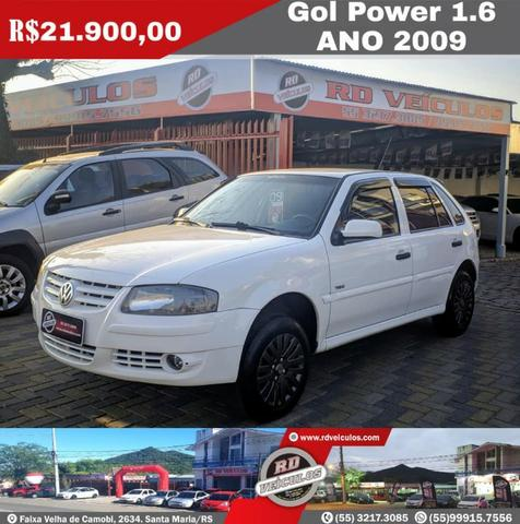 Gol G4 Power 1.6 Ano 2009 Completo