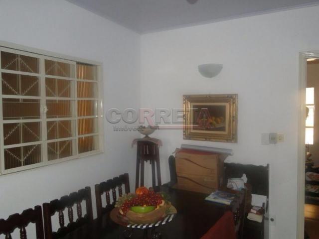 Casa à venda com 3 dormitórios em Vila mendonca, Aracatuba cod:V9917