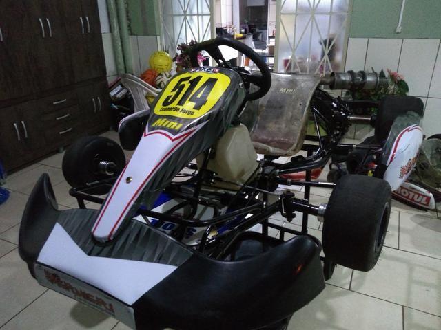 Kart mini 2016 motor 21 hp gasolina