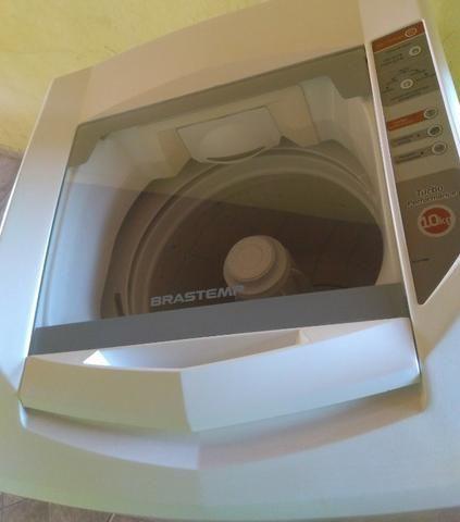 Máquina Brastemp 10.KG(1 Ano de Garantia)Entrego