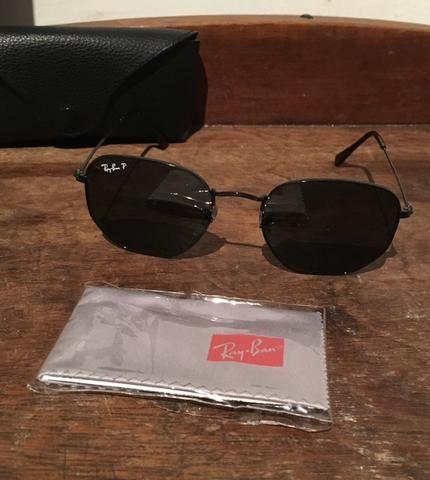 9ad85284595e3 Óculos Ray-Ban Hexagonal Polarizado original - Bijouterias