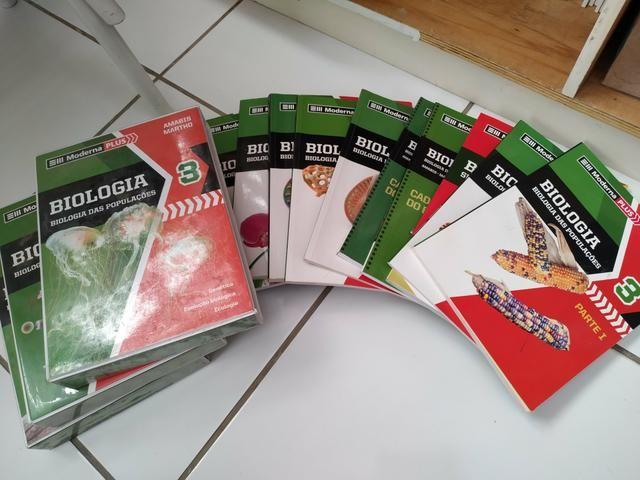 Box de Biologia Moderna Plus completo (3 volumes