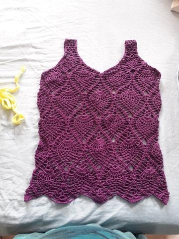 62bbed13d Blusa de croche - Roupas e calçados - Bandeiras, Osasco 632255165 | OLX