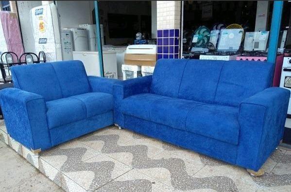 Belissimo Conjunto de Sofa 3 e 2 Lugares Novos e Embalados e Com Otimo preço