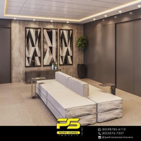Apartamento com 2 dormitórios à venda, 60 m² por R$ 468.000 - Cabo Branco - João Pessoa/PB - Foto 11