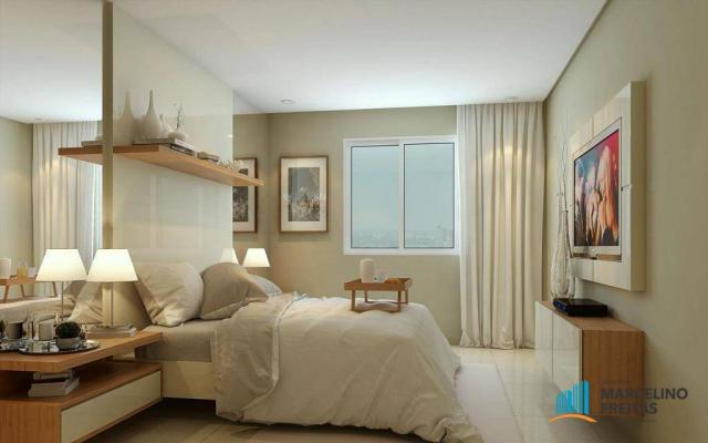 Apartamento com 3 dormitórios à venda, 71 m² por R$ 430.000,00 - Jacarecanga - Fortaleza/C - Foto 11