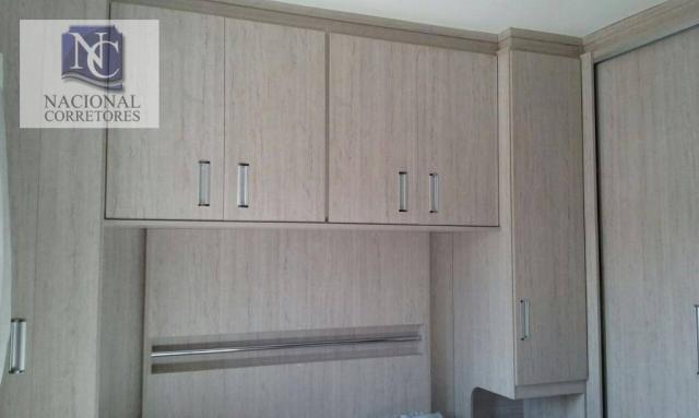 Cobertura com 2 dormitórios à venda, 106 m² por R$ 335.000,00 - Vila Tibiriçá - Santo Andr - Foto 15
