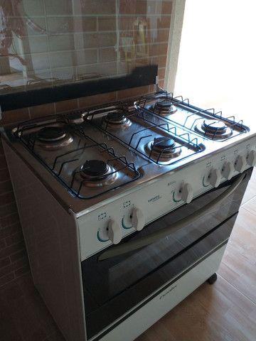 Fogão Esmaltec Veneza 6 bocas com acendimento automático e forno 87lts - Foto 3