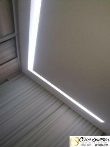 Apartamento 3/4 com suíte e varanda - Torres do Atlântico - Lauro de Freitas - Foto 5