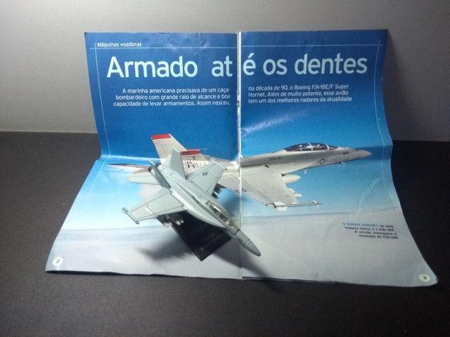 Miniatura Caça Super Hornet - Foto 2