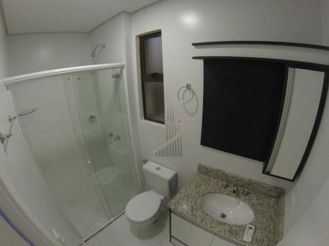 Apto no Ed. Toscana com suíte, quarto, sala com sacada e churrasqueira - excelente padrão! - Foto 5